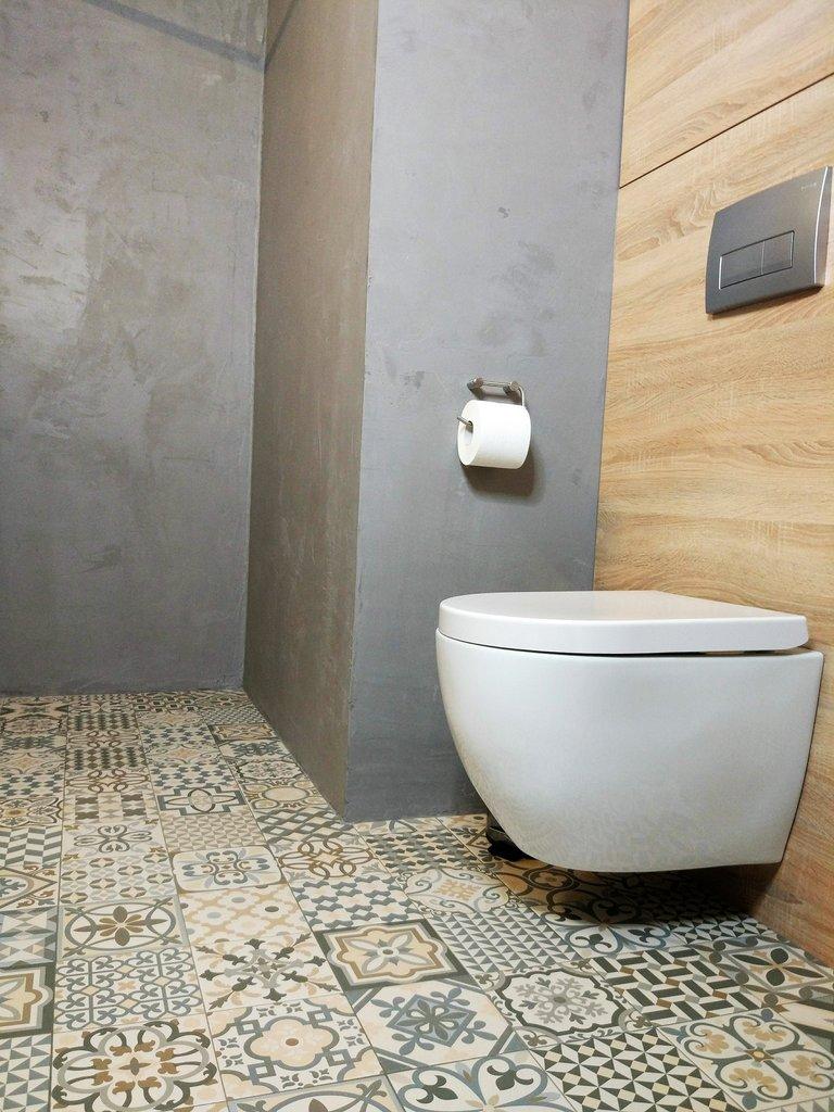 pared de microcemento impermeable